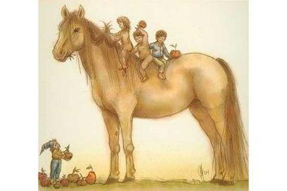Horse and Fairies